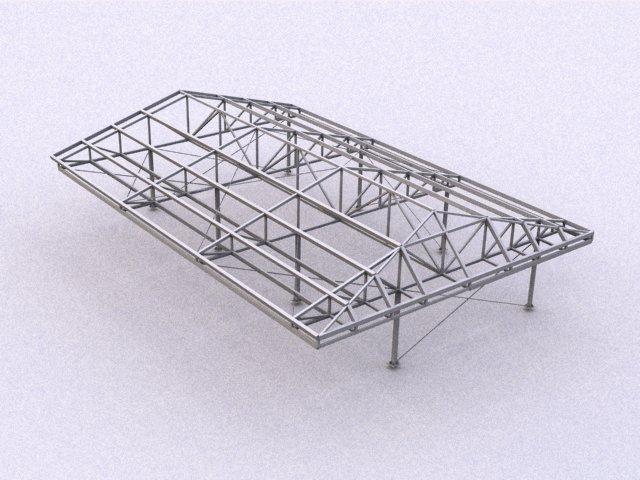 Garaje particular en algete nieto y monterde for Estructuras para viveros plantas