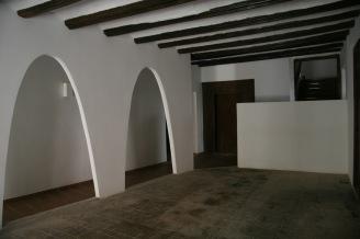 Casa Oliván, Graus. Portal